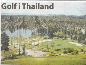 Bild på golfbana